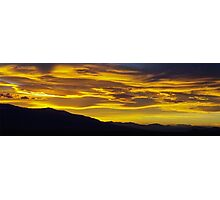 Golden Sunset I Photographic Print