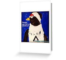 Cutie Pie Penguin Greeting Card