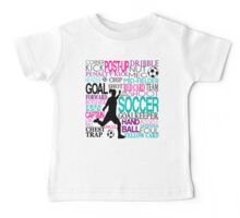 Words of football 578 Baby Tee