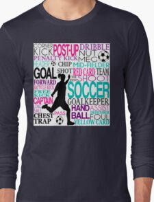 Words of football Long Sleeve T-Shirt
