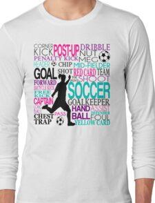Words of football 578 Long Sleeve T-Shirt
