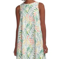 Botanical Garden A-Line Dress
