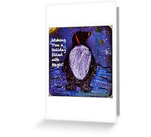 Magical Holiday - by Lola Greeting Card