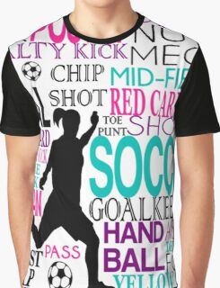 Words of football Graphic T-Shirt