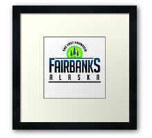Fairbanks Explorer, Alaska Framed Print