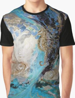The Splash Of Life 22. The Sea Horse Graphic T-Shirt