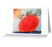 Nadia's Sunny Pumpkin Patch  Greeting Card