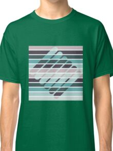 Fusion of shapes and color harmony Classic T-Shirt