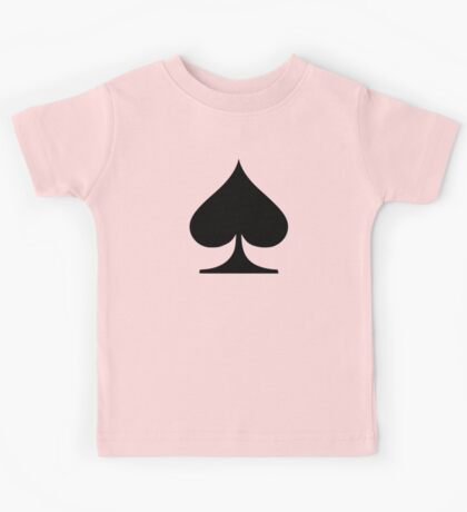 Poker spades Kids Tee