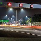 Citylink Freeway Lights by Michael Tuni