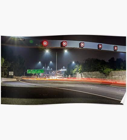 Citylink Freeway Lights Poster