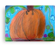 Lola's Pumpkin Dream  Canvas Print