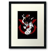 Saiyan Force Elite - Bardock Framed Print