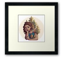 Over-Growth Framed Print