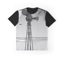 Old Movie time vintage film camera Graphic T-Shirt