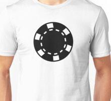 Black poker chips Unisex T-Shirt