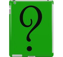 Riddle T-Shirt - Question Mark Sticker iPad Case/Skin