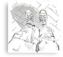 Sport shoes. Canvas Print