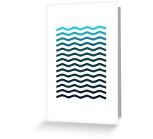 Just Water Please Greeting Card