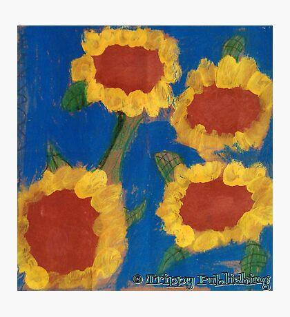 Nadia's Sunny Summer Flowers Photographic Print