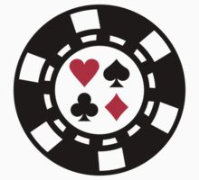 Poker chips casino by Designzz