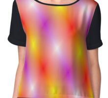 The lights of show business pattern Chiffon Top