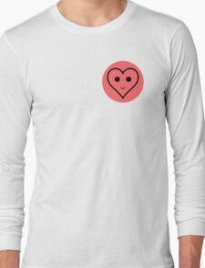 SMILEY HEART Long Sleeve T-Shirt