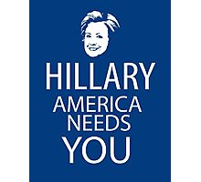 Hillary for president Photographic Print