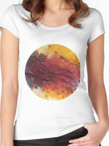 Secret garden no.2 Women's Fitted Scoop T-Shirt