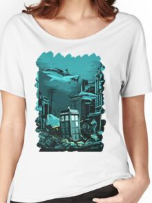 Underwater Tardis Women's Relaxed Fit T-Shirt