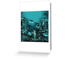 Underwater Tardis Greeting Card