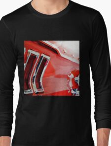 vintage car aquarell Long Sleeve T-Shirt