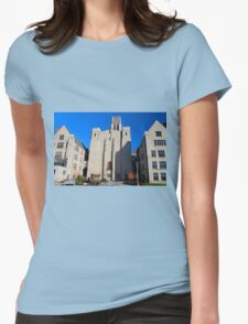 University of Toledo- Campus Mall Side I Womens Fitted T-Shirt