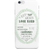 Vincent and the Doctor Quote iPhone Case/Skin