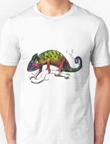 lizard chameleon animal wild Unisex T-Shirt