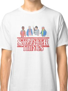 Stranger Things - the Gang Classic T-Shirt