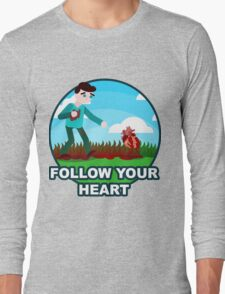 Follow Your (Anatomically Correct) Heart Long Sleeve T-Shirt