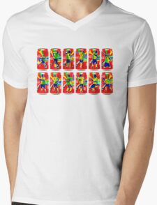 Celebrations Mens V-Neck T-Shirt
