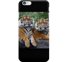Twin brothers iPhone Case/Skin