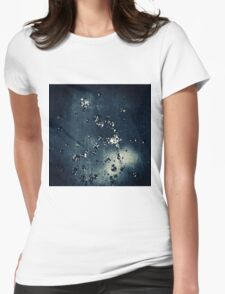 WATERDROPS I Womens Fitted T-Shirt