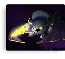 Dark Meta Kirby Canvas Print