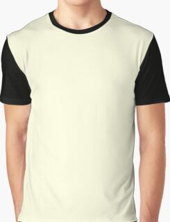 Light Yellow True Color Graphic T-Shirt