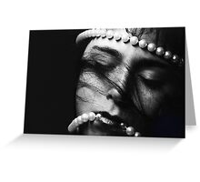 Dreaming with Pearls Greeting Card