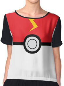 Pokemon ball  Chiffon Top