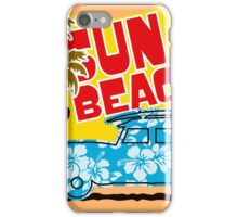 Sun Beach 578 iPhone Case/Skin