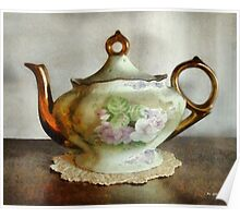 Heirloom Teapot Poster