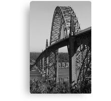 Yaquina Bay Bridge © Canvas Print