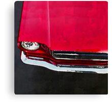 vintage car aquarell Canvas Print