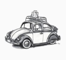 Volkswagen Beetle 60s - 'Signed'  by roudyb