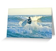 Surfer At Laguna Beach California Greeting Card